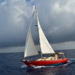 Salsda under sail